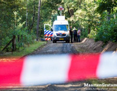 Dode bromfietser op fietspad langs Kamperweg Heerde